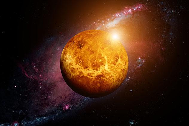Ver salir el Sol al revés en Venus