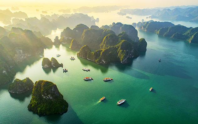 Bahía de Halong,Vietnam