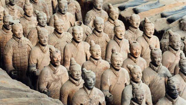 Guerreros de Terracota de Xian, China © Nikada / Getty Images