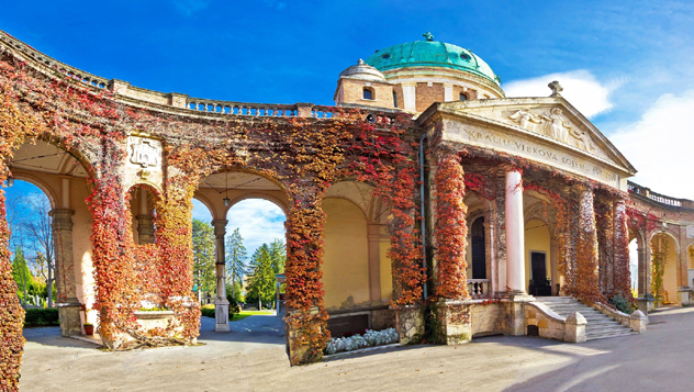Cementerio Mirogoj, Zagreb, Croacia © xbrchx / Shutterstock