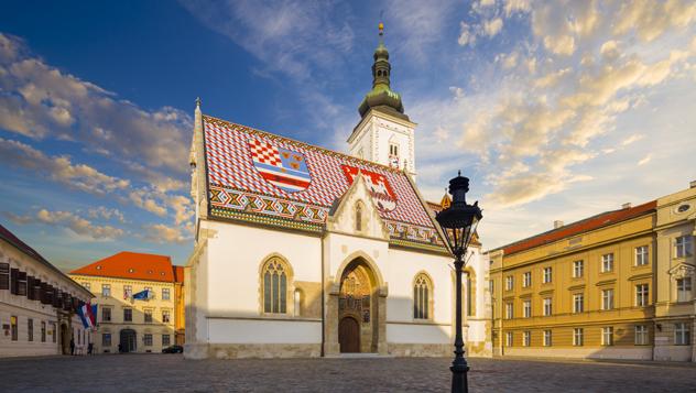 Iglesia de San Marcos, Zagreb, Croacia © Phant / Shutterstock