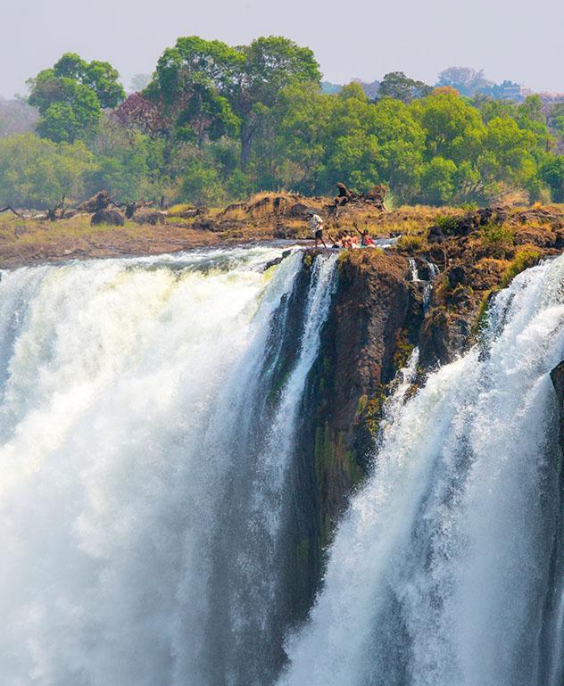 Experiencia salvaje en África: chapuzón en Devil's Pool, Zambia
