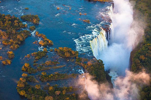 Cataratas Victoria, Zimbabue y Zambia