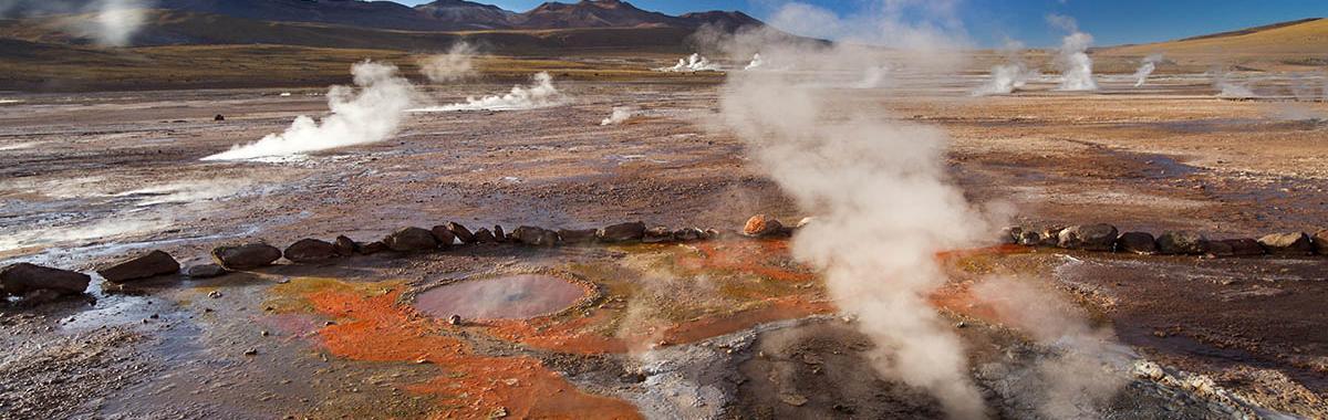 Desierto de Atacama, geysers El Tatio