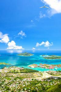 Isla de Mahe, Seychelles
