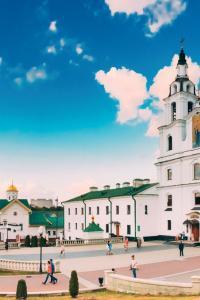 Bielorrusia: catedral de Minsk, la capital de Bielorrusia