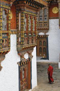 Viajar a Bután: templo de Punakha