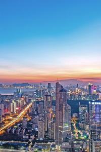 Shēnzhèn, China: el rascacielos Ping An Financial Centre