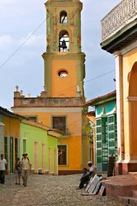 Cuba, Trinidad, Convento de San Francisco de Asís
