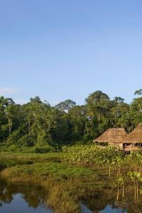 Kapawi eco-lodge de la comunidad achuar en Ecuador