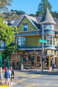 Haight-Ashbury, uno de los barrios de San Francisco, EE UU