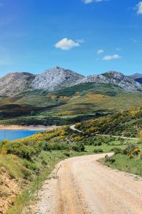 Vista de la Montaña Palentina, provincia de Palencia, Castilla y León, España