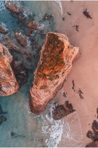 Playa de As Catedrais, Ribadeo, Lugo, Galicia