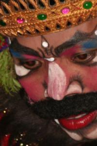Representación de una danza balinesa, Bali, Indonesia
