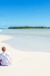 Pareja en las Islas Cook