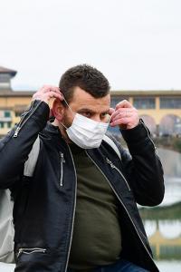 Italia, Florencia, coronavirus