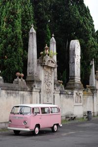 Furgoneta en Roma, una de las paradas del 'Grand Tour' de Italia