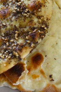 Gastronomía del Líbano: man'oushe