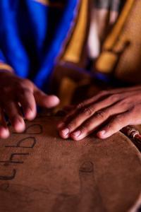 Yembe (djembe) de Malí, África