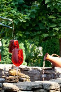 Fuente de vino, bodegas Milestii Mici, Moldavia