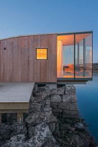 Hotel en Manshausen, Islas Lofoten, Noruega, Europa