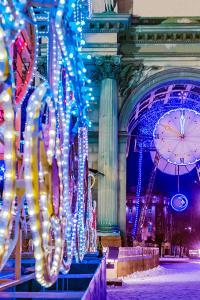 Fin de Año en San Petersburgo, Rusia
