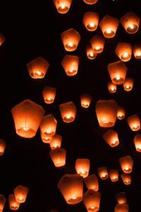 Festival de Linternas Flotantes de Pingxi Sky 2014 en Taiwán