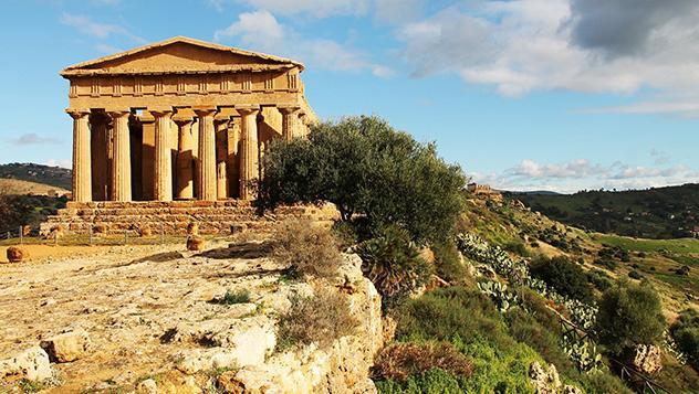 Valle de los Templos, Sicilia, Italia