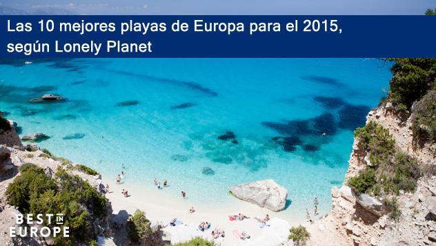 Las 10 mejores playas de Europa para el 2015