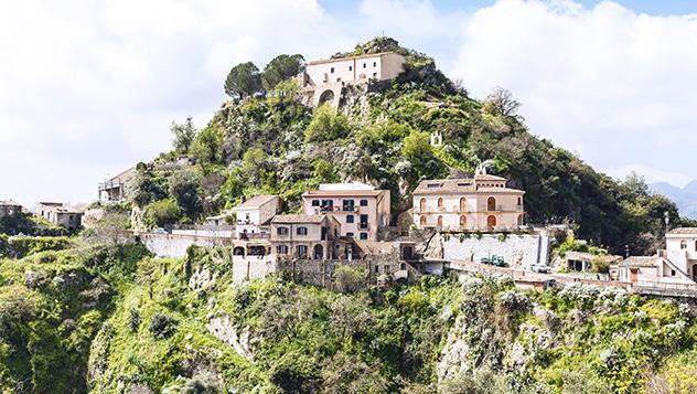 Savoca, Sicilia, Italia