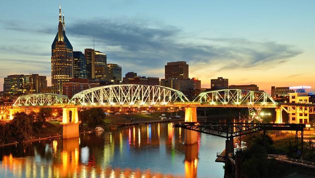 Nashville de noche, Estados Unidos