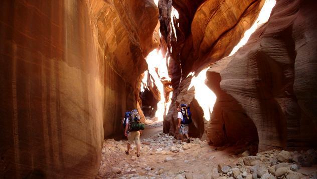 Buckskin Gulch, barrancos de Paria Canyon, EE UU