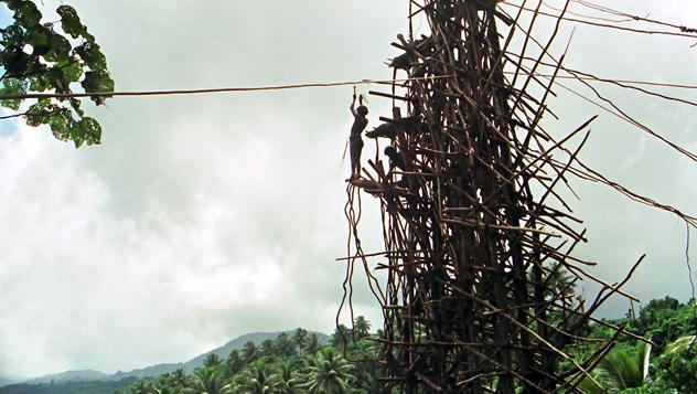 El 'puenting' original, Vanuatu