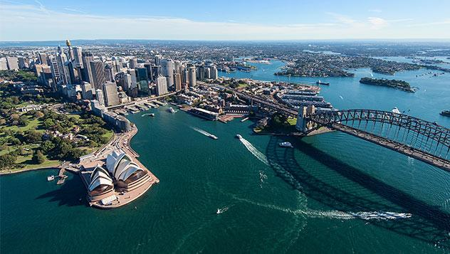 Skyline de Sídney, Australia