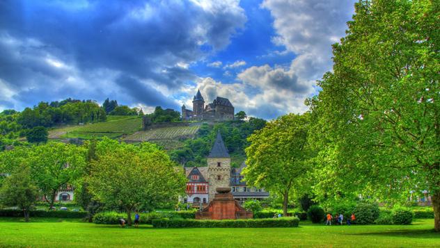 Burg Stahleck, Alemania