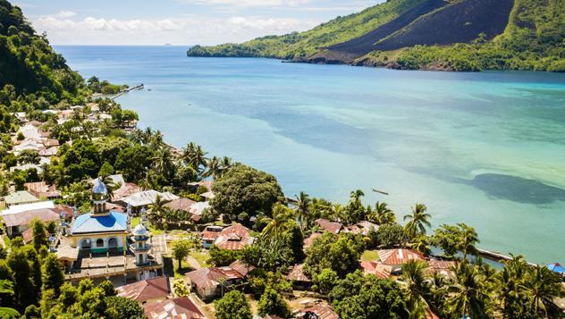 Banda, islas de las Especias, Indonesia