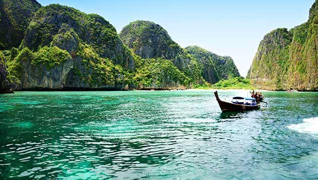 Mar de Andamán, Krabi, Tailandia