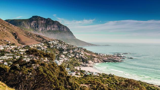 Exclusivo barrio residencial de Llandudno, al oeste de Muizenber, Ciudad del Cabo, Sudáfrica