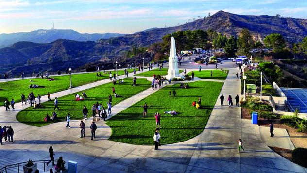 Griffith Park de Los Ángeles, California, Estados Unidos