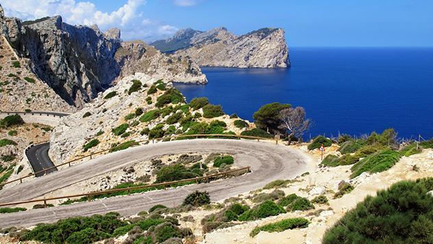 Cabo de Formentor, Mallorca, Islas Baleares, España