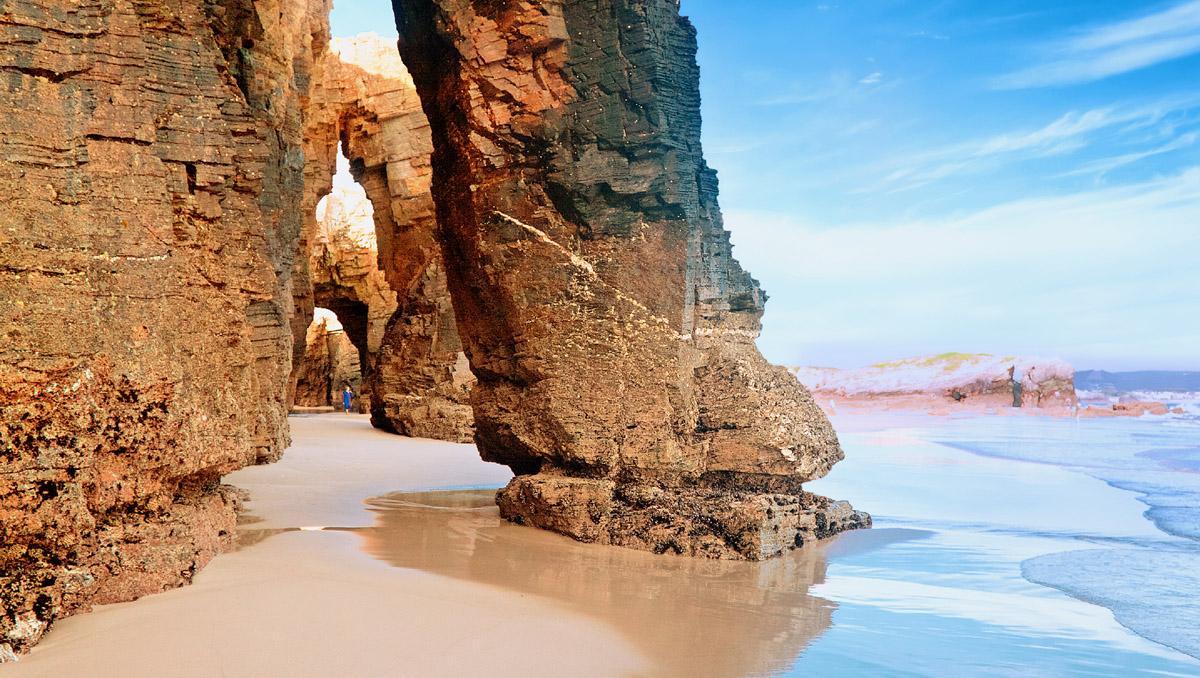 Playa de Las Catedrales, Galicia, España