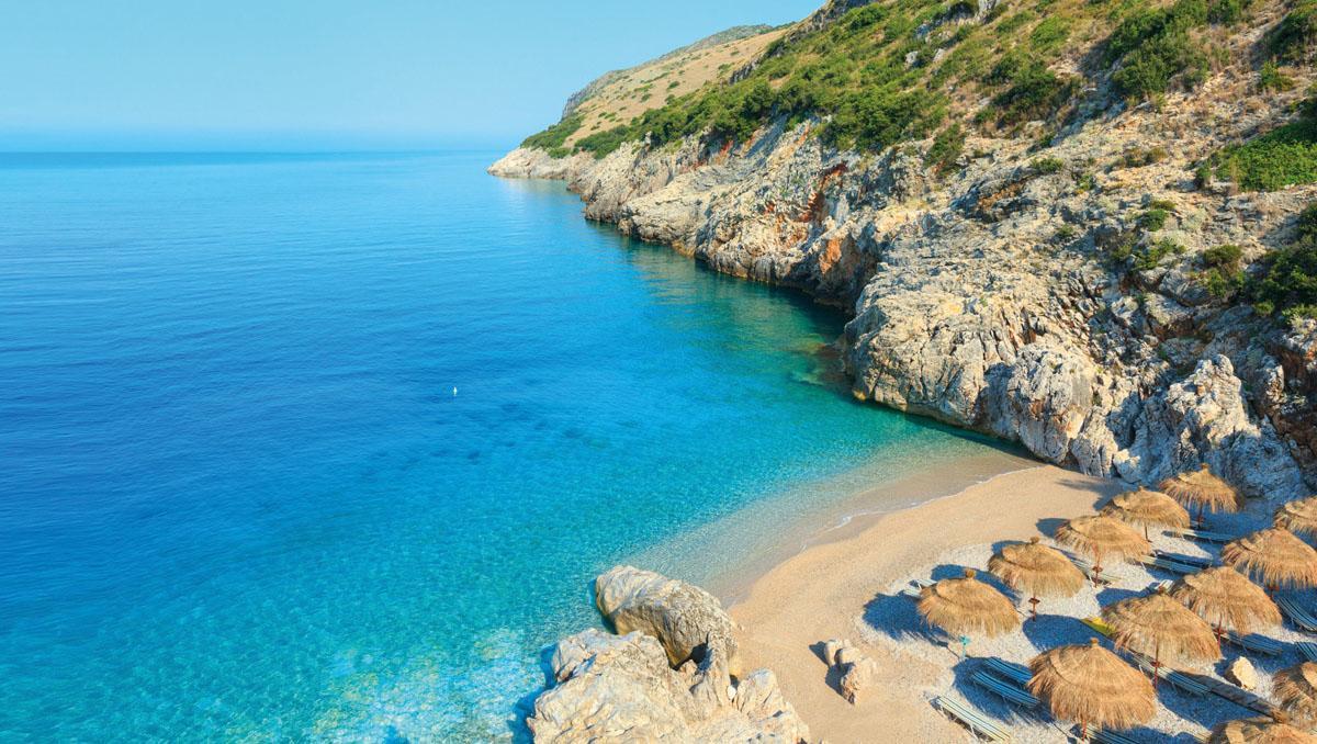Albania, playas