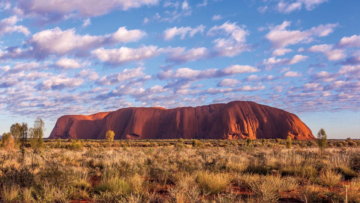 Centro Rojo, Uluru, Australia