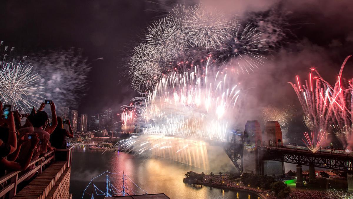 Fin de Año en Sídney, Australia