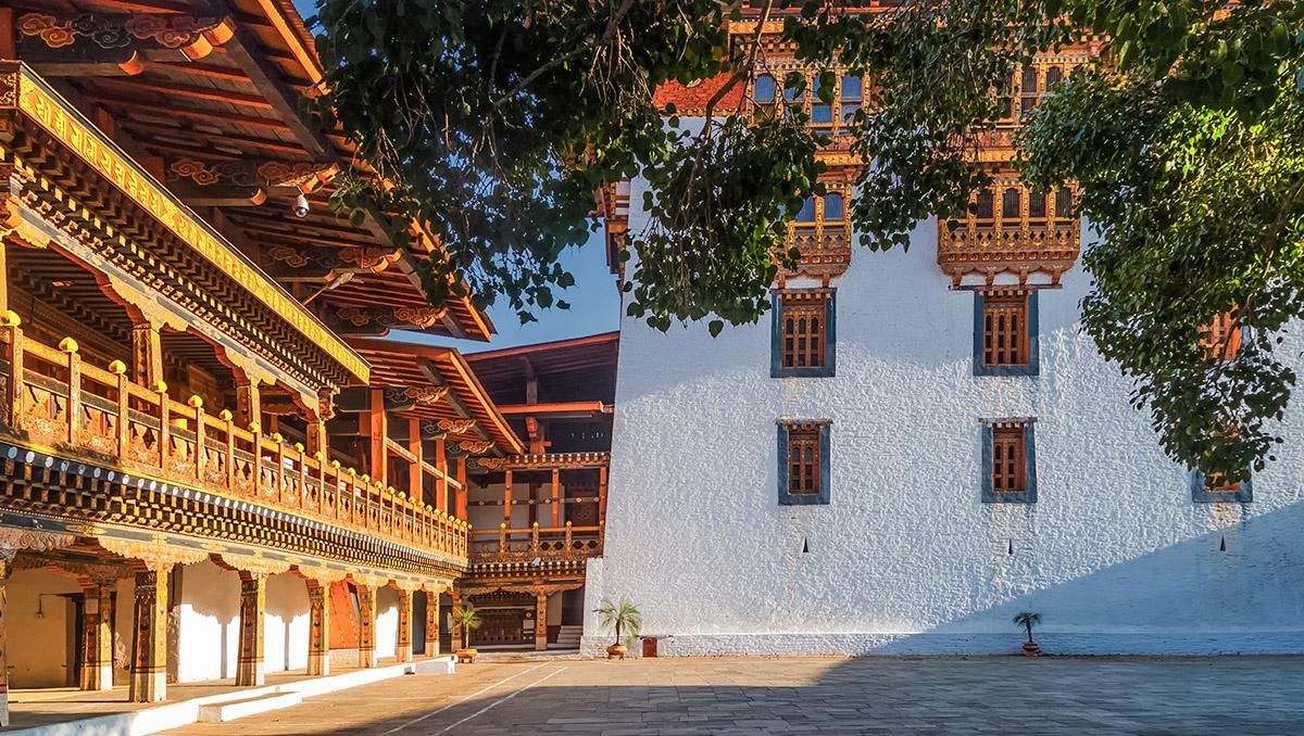 Punakha Dzong, Bután