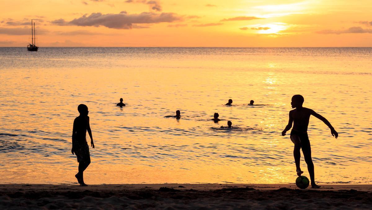 Playa Tarrafal, Isla Santiago, Cabo Verde