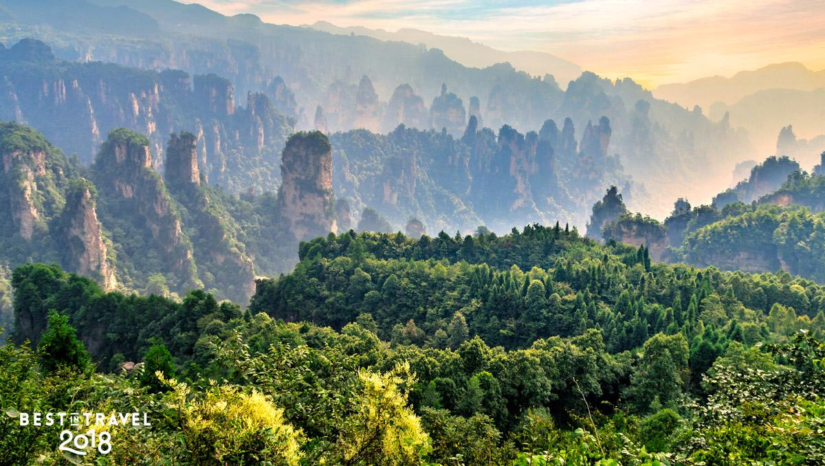 Parque Zhāngjiājiè, Húnán, China