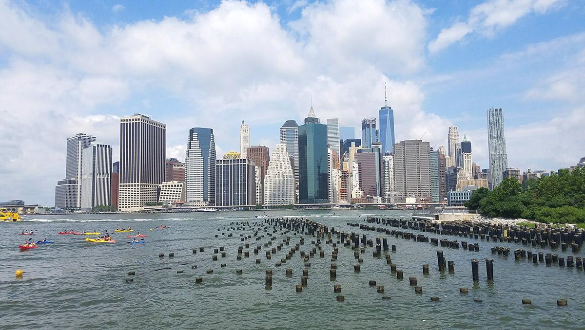 Nueva York, kayak gratis