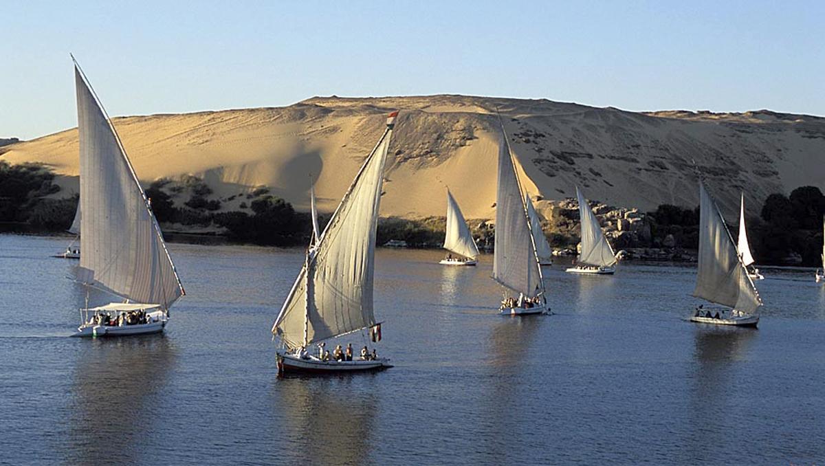 El Nilo, Egipto