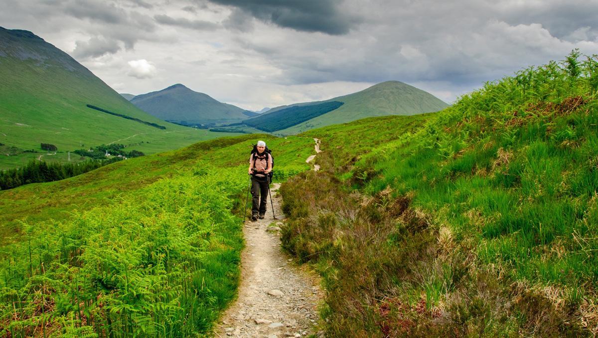 'Trekking' en Escocia